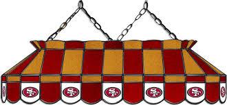 49ers pool table felt san francisco 49ers pool table light ozone billiards