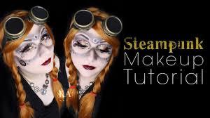 steam punk halloween costume steampunk halloween makeup tutorial 31 days of halloween youtube