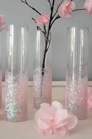Cheap Vases For Sale Icing Designs Diy Glittery Pink Vases You Can Also Cover The