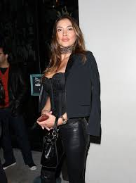 Nightingale Hollywood Arianny Celeste Dines At Catch Restaurant In West Hollywood