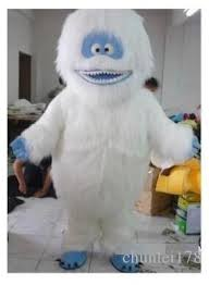 abominable snowman costume 2017new white snow mascot costume abominable snowman