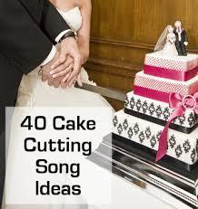 wedding cake song cutting