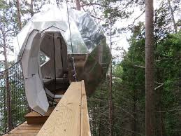 Treehouse Camping Quebec - sleep sky high at quebec u0027s parc aventures cap jaseux