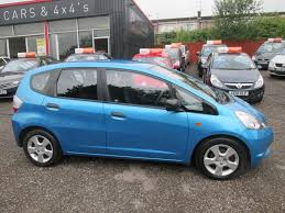 used blue honda jazz for sale torfaen