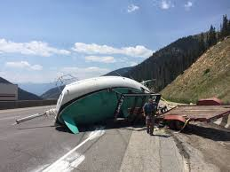Minnesota mountains images Boat from minnesota ends up on highway in colorado mountains jpg