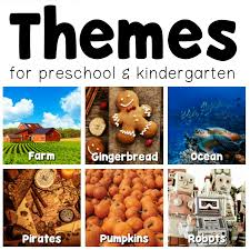 themes you important things you need to know about preschool themes