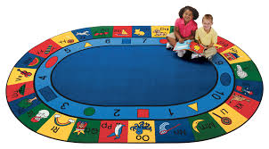 Large Kids Rugs by Blocks Of Fun Oval Carpets For Kids