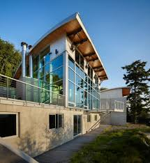 House Design Glass Modern by Modern Houses Seattle Glass Wall Modern House Design Cozy Corner