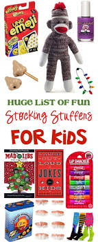 fun stocking stuffers 105 fun stocking stuffers for kids kid approved gifts the