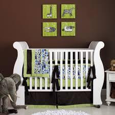 modern safari baby bedding and nursery necessities in interior