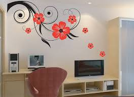 wall decoration with stickers shock for lovely home design ideas 4