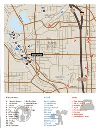 Atlanta Street Map Stockyards