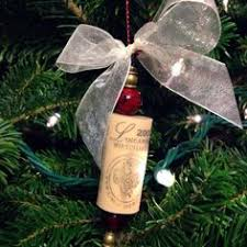 diy cork ornaments for your wine themed tree