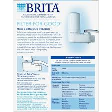 How Do You Change A Kitchen Faucet Amazon Com Brita On Tap Water Filtration System Replacement