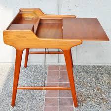 Compact Modern Desk Stunning Minimalist Svend Madsen Modern Teak Desk At 1stdibs