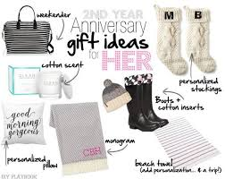 2nd wedding anniversary gifts for him the 25 best 2nd year anniversary gift ideas on second