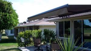 Sunsetter Roof Brackets by Roof Mount Retractable Awnings Youtube