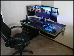 gaming computer desk desk awesome best gaming desk info at http bit ly battlestation
