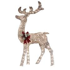 Christmas Decorations Buy Online Canada by Reindeer For Outdoor Christmas Decorations Buy Fiberglass Christmas