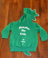 vintage 70s hoody sweatshirt monster for sale or rent baby 2 kids