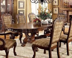 medieve dining room set cherry formal dining sets dining