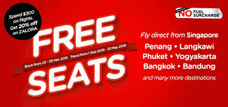 airasia bandung singapore airasia free seats air fares tickets promotion 2015 2016 singapore