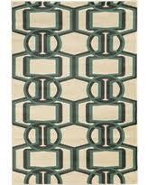 Herringbone Area Rug Deal Alert Roma Herringbone Area Rug Ivory Turquoise 5 U00273 X 7 U0027