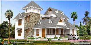 Home Design For 3000 Sq Ft 3000 Sq Feet New Style Home Design Kerala Home Design And Floor