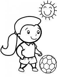 free printable soccer coloring pages kids free