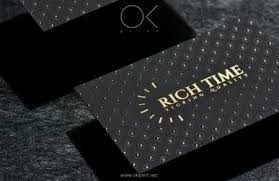 Luxury Business Cards Luxury Business Cards Okprint New York