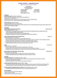 Cv Templates For Students 4 Undergraduate Student Cv Examples Nurse Resumed