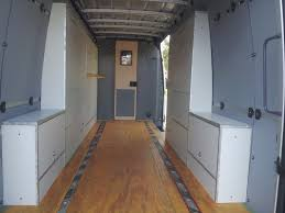 Fold Out Bed by Sprinter Cargo Van Cabinets With Fold Out Bed Ebay Sprinter