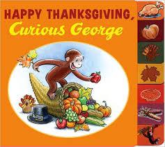 happy thanksgiving curious george rey nook book nook