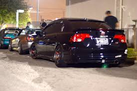 stanced car meet lay low hookah meet natsukashi garage