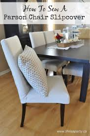Red Dining Room Chair Covers by Best 25 Dining Chair Slipcovers Ideas On Pinterest Dining Chair