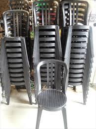 chaises grosfillex lot de 53 chaises grosfillex bistrot miami noir grosfillex