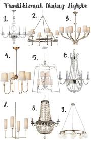 Traditional Lighting Fixtures Modern Dining Room Light Fixture Darleen A Lifestyle