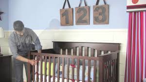 How To Convert Crib To Bed How To Convert A Kendall Crib Into A Toddler Bed Pottery Barn