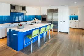 white kitchen cabinets with blue island 20 beautiful blue kitchen ideas photos home stratosphere