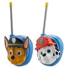 paw patrol walkie talkies target