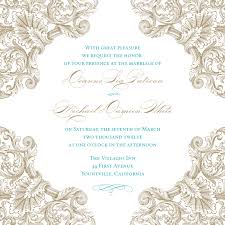 beautiful blank vintage wedding invitation templates elite