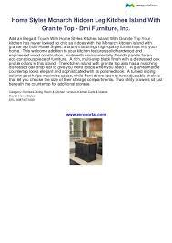 20 home styles monarch kitchen island black stained kitchen