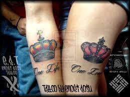 his and hers crown tattoos by enoki soju by enokisoju deviantart