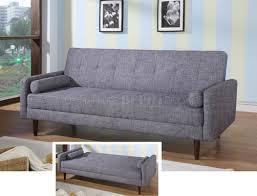 furniture dazzling tess modern grey sectional sofa with sleeper