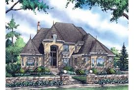 house plans with portico eplans chateau house plan two story portico commands attention