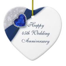 45 wedding anniversary 45th anniversary gifts find out some facts and get some ideas