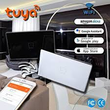 is there a black light app that works smart wifi switch light wall touch remote control programmable tuya