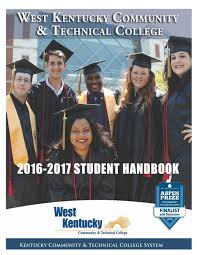 2016 17 student handbook by west kentucky community u0026 technical