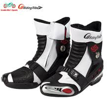 discount motorbike boots online buy wholesale motorbike leather boots from china motorbike