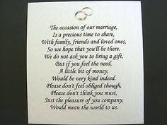 Wedding Gift Money Poem 50 Wedding Money Poem Cards Heart Design For Invitations Ask For
